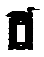 Electrical GFI/Rocker Wall Plate- Loon Design