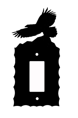 Electrical GFI/Rocker Wall Plate- Eagle Design