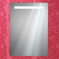 Portland Mirror With Integrated LED Light Strip, Rear Anti-Mist Pad & Sensor Switch