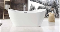 Aruba Gloss White Bath 1700 x 800