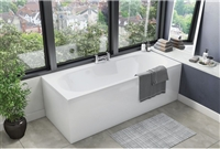 Round Double Ended Bath 1700 x 700