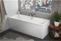 Square Double Ended Bath 1700 x 750