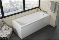 Square Single Ended Bath 1700 x 700