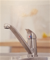 Arruba Brushed Stainless Finish Kitchen Tap