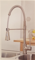 Tirare Brushed Stainless Finish Kitchen Tap