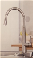 Venice Brushed Stainless Finish Kitchen Tap