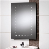 Atlanta Mirror With Integrated LED Lights & Rear Anti-Mist Pad