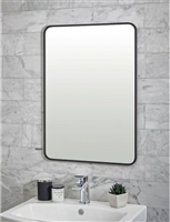 Mono Black Rectangle Mirror 500 x 700mm