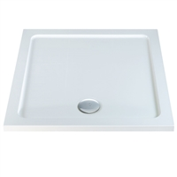 700 x 700 x 40mm Square Shower Tray