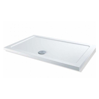 1000 x 800 x 40mm Rectangle Shower Tray