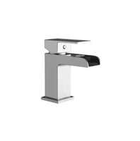 Victoria Mono Basin Mixer With Push Waste