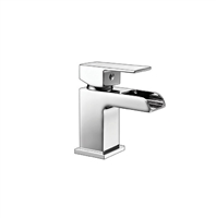 Victoria Mini Mono Basin Mixer With Push Waste