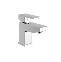Lanza Mono Basin Mixer With Push Waste