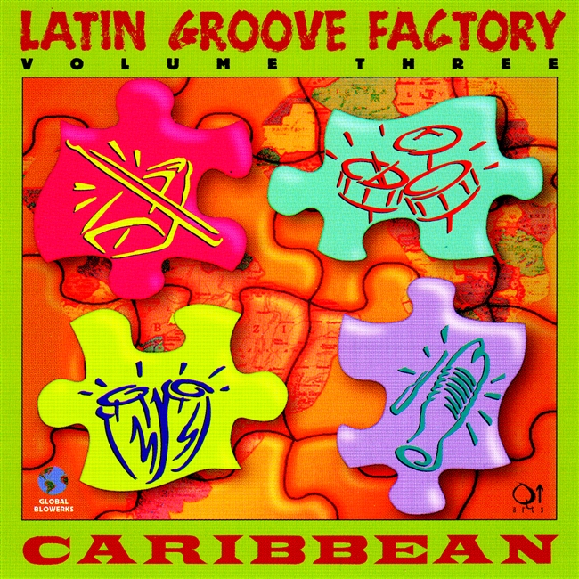 Latin Groove Factory volume 3 Carribean. Loops and single sampled hits.