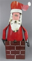 61-081 - Tin Santa on Chimney - G3 HEG