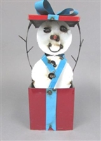 61-178 - Snowman in Giftbox / G8 OMA