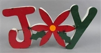 61-188 - RCY Poinsettia Joy Sign / G5 ADT