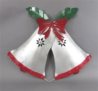 61-200 - Christmas Bells with Bow