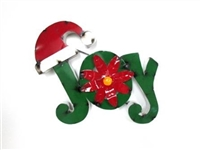 61-217 - Joy with Santa Hat - CLR C02