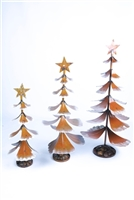 61-224 - Rock Base Christmas Tree 3PC Set - LAA O-05-06