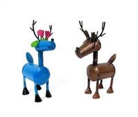 61-229 - Bobble Head Reindeer - ENL