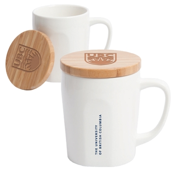 15 oz. Chic Mug with Bamboo Lid