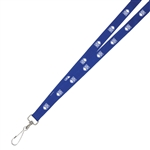"3/4"" Deluxe Screen Printed Lanyard - Tubular"