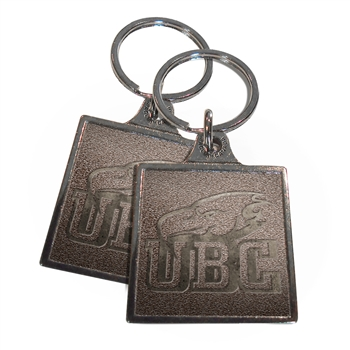 Classic Custom Cast Metal Key Tag