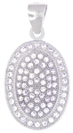 Silver Pendant with Micro Set Cubic Zirconia