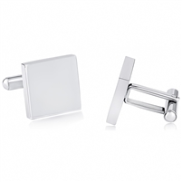 Stainless Steel Square Cufflink