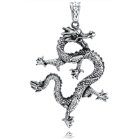 Stainless Steel Pendant -Dragon