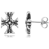Stainless Steel Studs - Cross