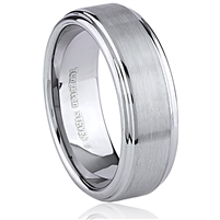 Tungsten Ring-8mm wide- Comfort Fit
