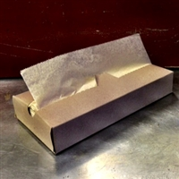 "10"" Natural Kraft Interfolded Deli Sheet"