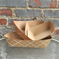 Southern Champion 3 lb ECO Paper Food Tray