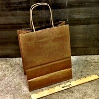 Small Kraft Twist Handle Paper Bag