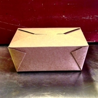 EcoSource The Box #4 Take Out Container