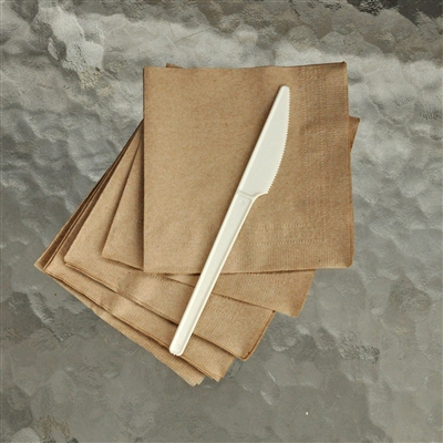 "StalkMarket Compostable 6.5"" Knife - Heavy Duty"