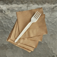 "StalkMarket Compostable 6.5"" Fork - Heavy Duty"