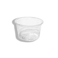 StalkMarket Compostable Clear PLA Portion Cup 4 oz