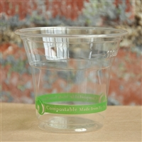 StalkMarket Compostable Clear PLA Cold Cup 5 oz