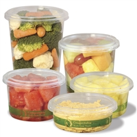 StalkMarket Compostable Round Deli Container Lid