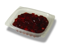 StalkMarket Clear Compostable PLA Hinged Deli Box 8 oz