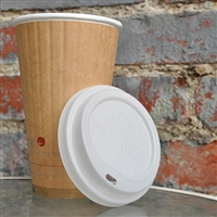 Planet+ Compostable Lid for 20 oz Insulated Hot Cup
