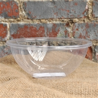 StalkMarket Compostable Round PLA Salad Bowl 24 oz