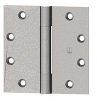 Hager 001620, Ab700 4-1/2 X 4-1/2 Steel Full Mortise Standard Weight 3 Knuckle Hinge In Us26D Box Of 3 (Lifetime Warranty)