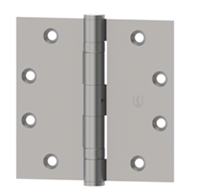 Hager 010108  Bb1279,  4-1/2 X 4-1/2 Full Mortise Standard Weight 5 Knuckle Ball Bearing Hinge In Us26D Box Of 3 (Lifetime Warranty)