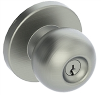Hager 091146, 3540-234-Us32D-Apl-Asa, 3500 Series Privacy Function Grade 2 Cylindrical Lock, Apollo Knob, Asa Strike - Us32D Stainless Steel (Lifetime Warranty)