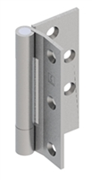 "Hager 092567, Ab701 4-1/2"" Steel Half Mortise Standard Weight 3 Knuckle Hinge In Us26D Satin Chromium Plated Finish Box Of 3 (Lifetime Warranty)"