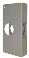 "Don Jo 1-Cw-S, For Cylindrical Door Lock W/2 1/8"" Hole, S Finish"